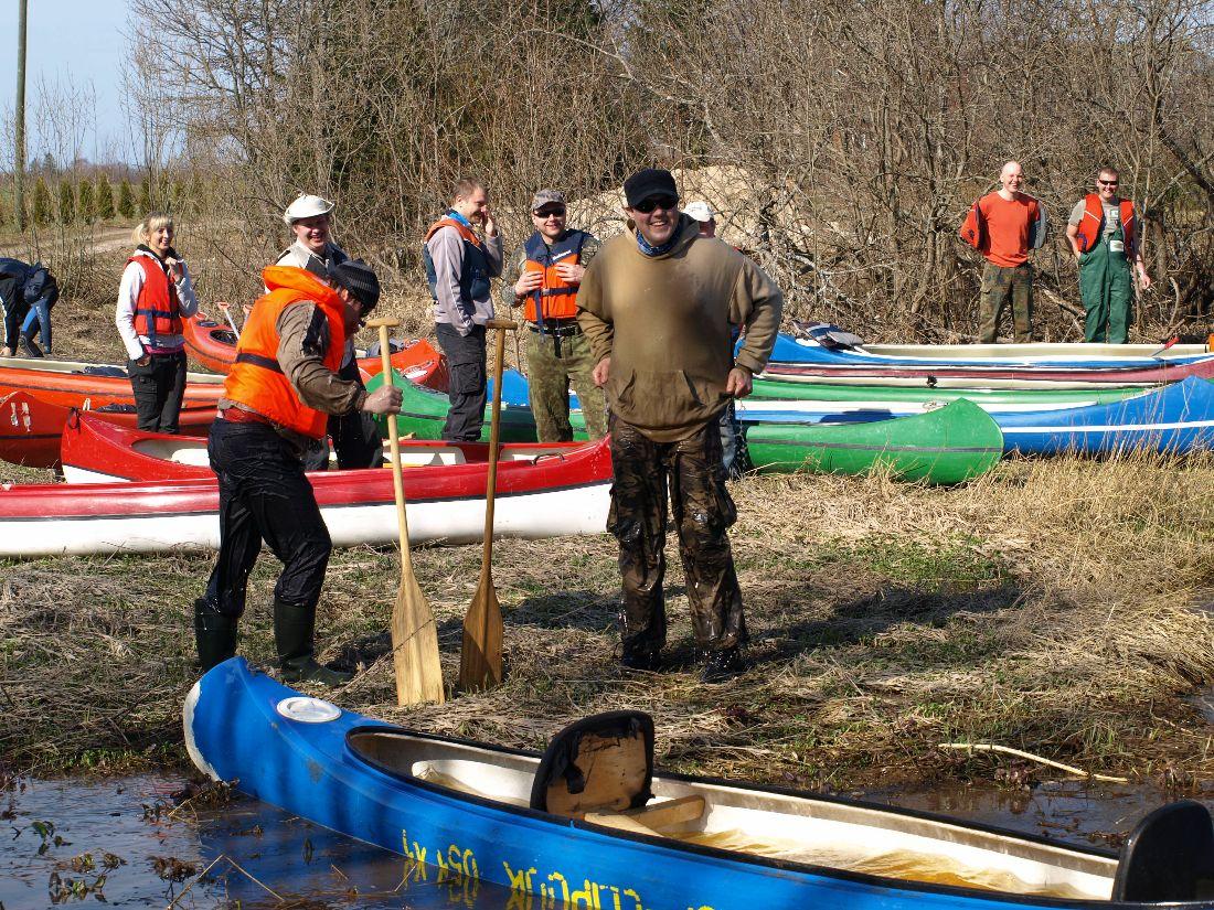 Canoeing team