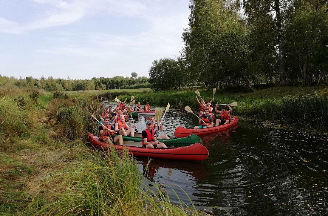 Canoeing company