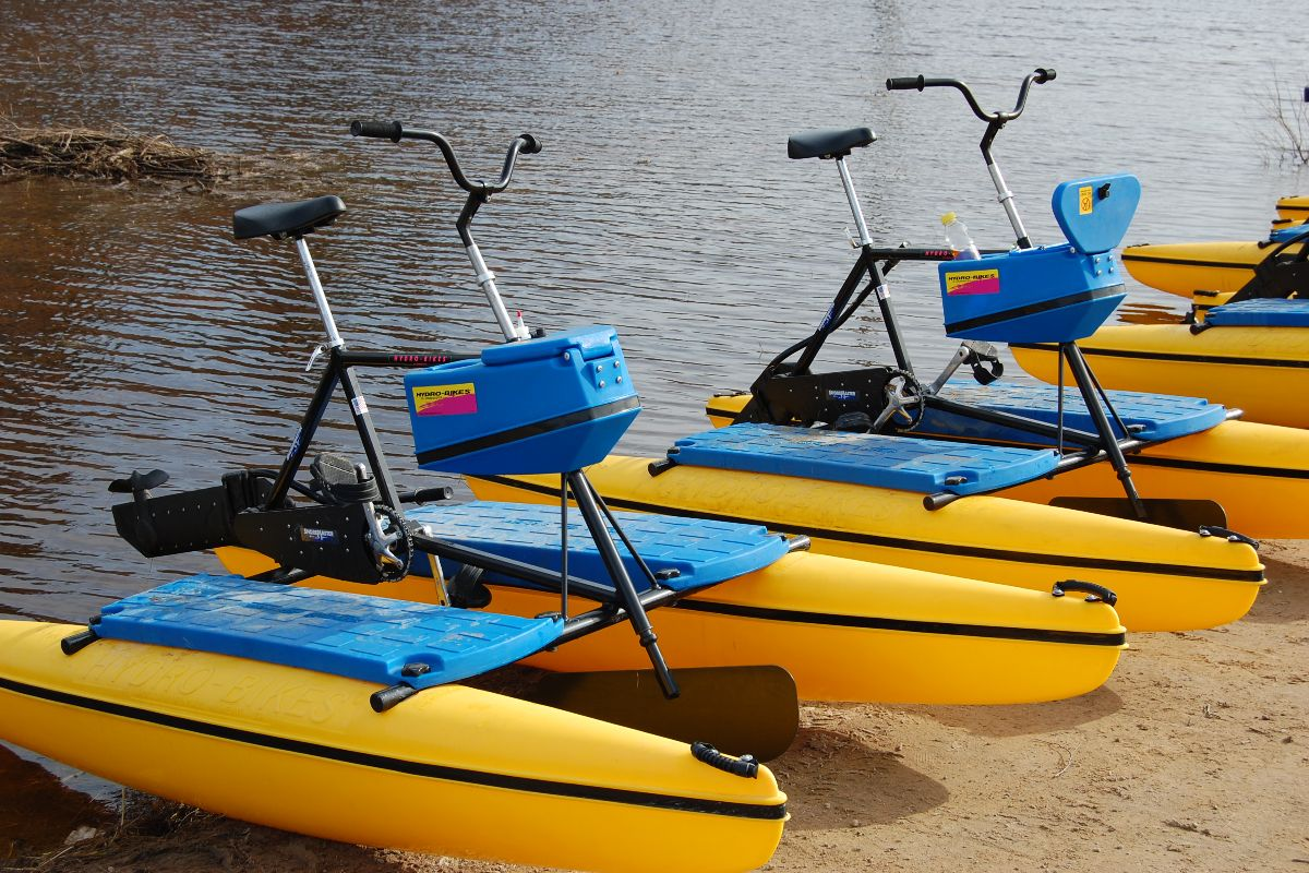 Soomaa water bicycles