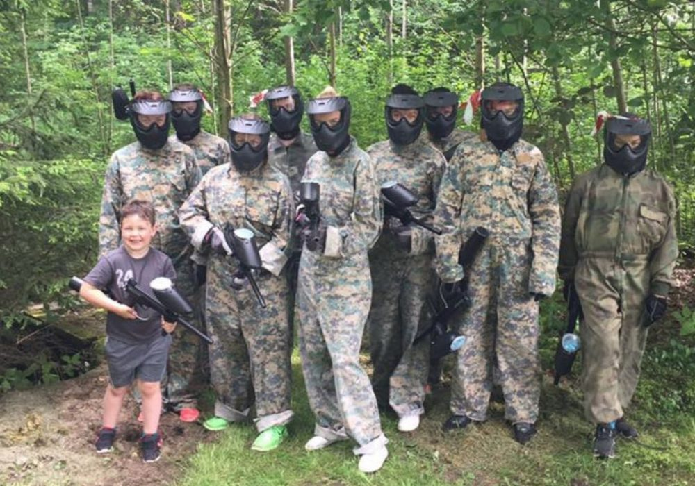 Paintball in the Parvile